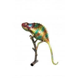 Dekorace do zahrady - chameleon Indie