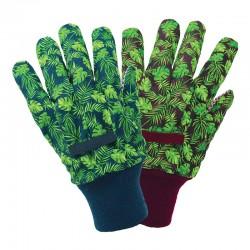 Pracovní rukavice bavlněně - tropical