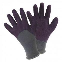 Pracovní rukavice fialové