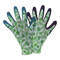 Pracovní rukavice latexové - tropical