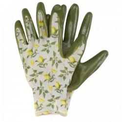 Pracovní rukavice nitrilové - lemon