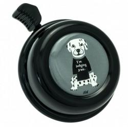 Kovový zvonek na kolo - pes