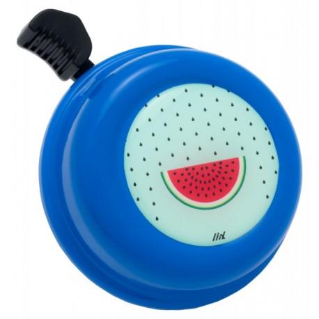 Kovový zvonek na kolo - meloun