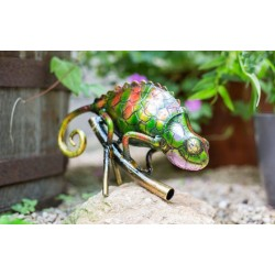 Dekorace do zahrady - chameleon Borneo