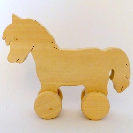 Dřevěné hračky - koník