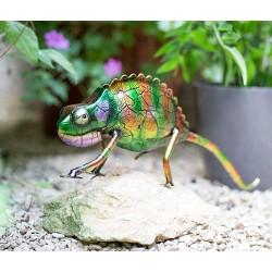 Dekorace do zahrady - chameleon Bali