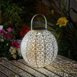 Orientální lucerna krémová - LED