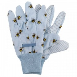 Pracovní rukavice bavlněné - včely