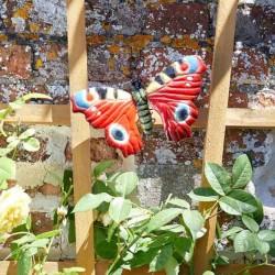 Dekorace do zahrady - babočka velká