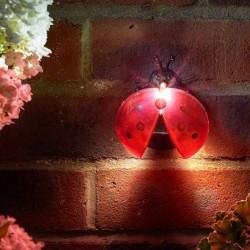 Dekorace do zahrady s LED osvětlením - beruška