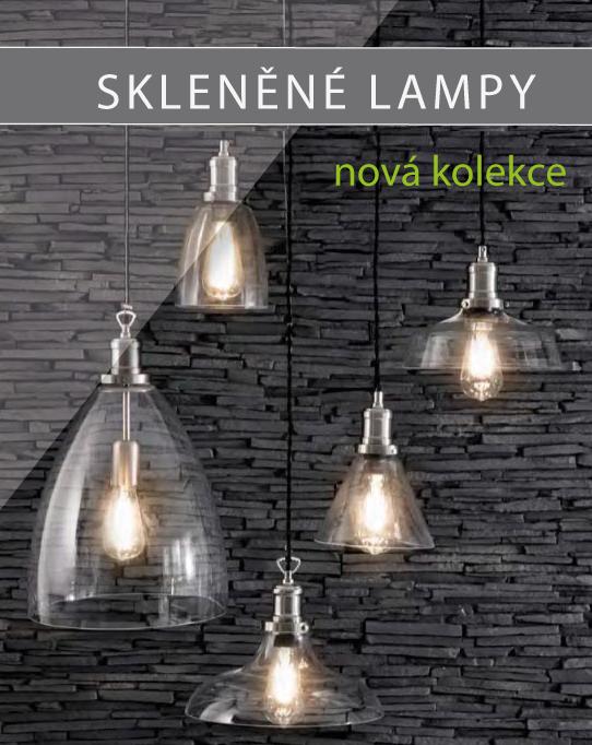 Skleněné lampy - nový design